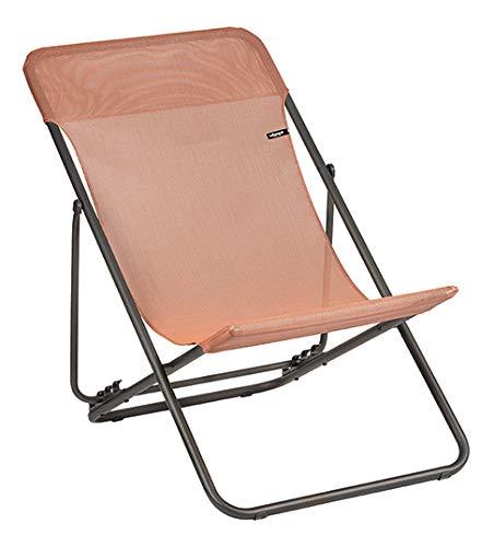 Lafuma Mobilier Maxi Transat Batyline 2019 Camping Chair Terracotta