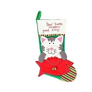 Mayoaoa - Chaussettes de Noël pour Chat et Chien - 45,7 cm