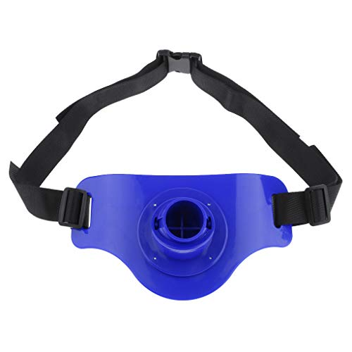 CUTICATE Leicht Kampfgurt Angeln Bauchgurt Kampfgürtel Angelrutenhalter Hüftgurt für Seewasser, 3 Farbe Auswahl - Blau