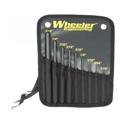 Wheeler Roll Pin Punch Set Black, 14.4 oz