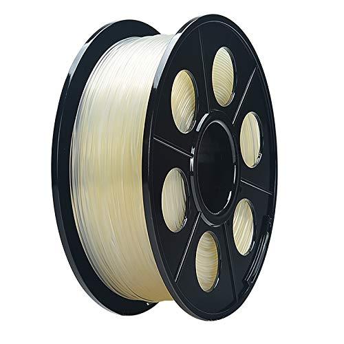 TPU Flexible Filament 3D Printer Filament TPU Filament 1.75mm, With Flexibility And Cold Resistance, 3D Printing Filament For 3D Printer, Dimensional Accuracy +/- 0.03mm, (transparent)