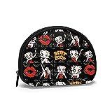 Betty Boop - Bolsa para guardar monederos, cosméticos, cómics, bolsas de almacenamiento portátiles de viaje, bolsa de maquillaje para mujeres y niñas, regalo