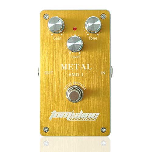 Doolland AMD-1 Metal Distorsión Pedal de efecto de guitarra eléctrica Carcasa True Bypass