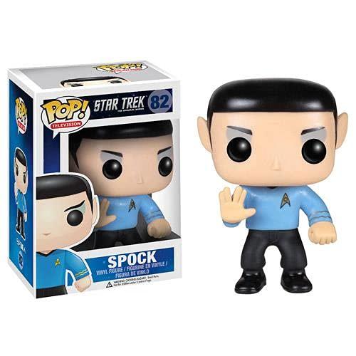 XE Pop Figurine de personnage de dessin animé Star Trek Spock fait à la main