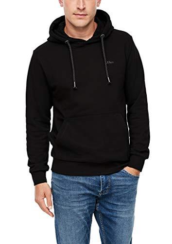 s.Oliver Herren 130.11.899.14.140.2041042 Kapuzensweater, Black, M