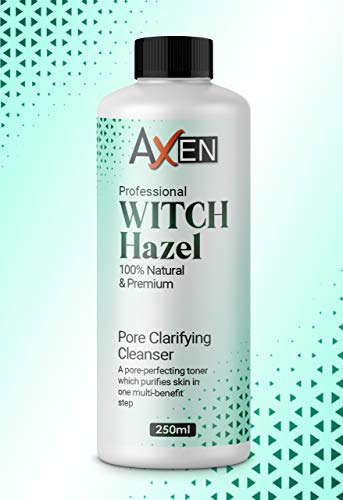 Distilled Witch Hazel Liquid 250ml - Pure, Natural, Cruelty Free, Vegan - Cleansing & Toning - Ideal for Aromatherapy, Skincare and DIY Beauty Recipes