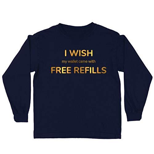 lepni.me Kids T-Shirt Ik Wens Mijn Portemonnee Kwam met Gratis Vullingen
