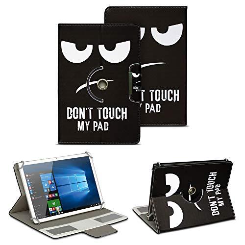 NAUC Tablet Tasche für Blaupunkt Atlantis A10.303 Ständerfunktion Hülle Schutztasche Stand Tasche Etui Cover Universal 10.1 Zoll Hülle Schutzhülle, Farben:Motiv 9