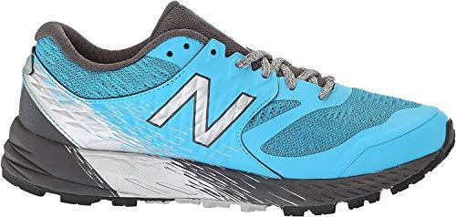 New Balance Summit KOM, Zapatillas de Running para Asfalto para Mujer, Azul (Polaris/Magnet BW Black), 39 EU