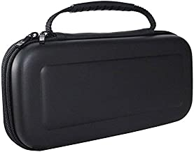 Deco Gear Compatible with Nintendo Switch Hard Shell Travel Carrying Case - (Black)