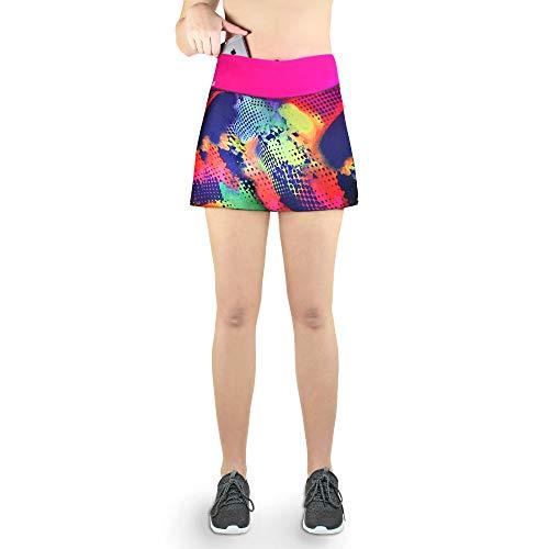 Formbelt® - Variosports Skirt Sports Falda Deportiva para Mujer Integrado para Guardar teléfonos móviles de...