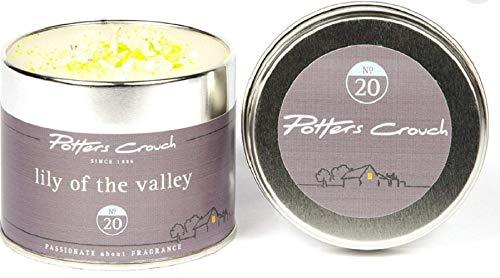Potter Entre Jambes Lilly of The Valley Bougie parfumée dans Une boîte métallique