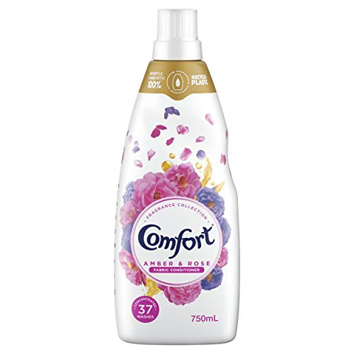 Comfort Aromatherapy Fabric Conditioner Amber and Rose, 750ml