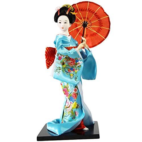 Black Temptation Traditionelle japanische schöne Kimono-Geisha /Maiko Puppe /Geschenke / Deko-A11