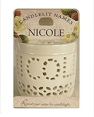 Candlelit Names Nicole