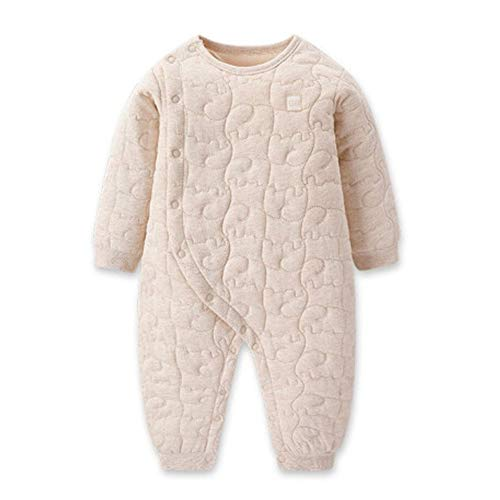 Baby Onesies, Winter Katoen Warm Kleding Geschikt voor 0~3 Jaar Oude Man En Vrouwelijke Baby Romper