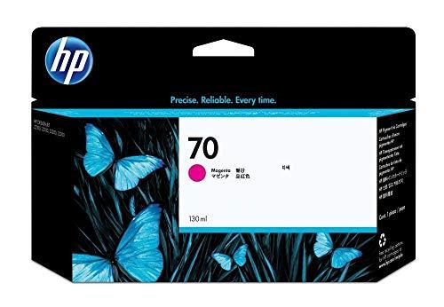 HP 70/c9453a Magenta Cartucho de inyección de Tinta/Ink Original OEM 130Rendimiento para HP DesignJet Z210024, Tipos 44, anchuras de 24impresoras de inyección de Tinta–al por Menor