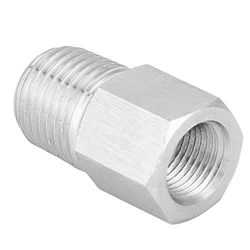 Montaje de tubería Acoplamiento rápido de acero inoxidable Fácil de enchufar buen sellado para manguera de aire (interior 1/8 '-exterior 1/4')