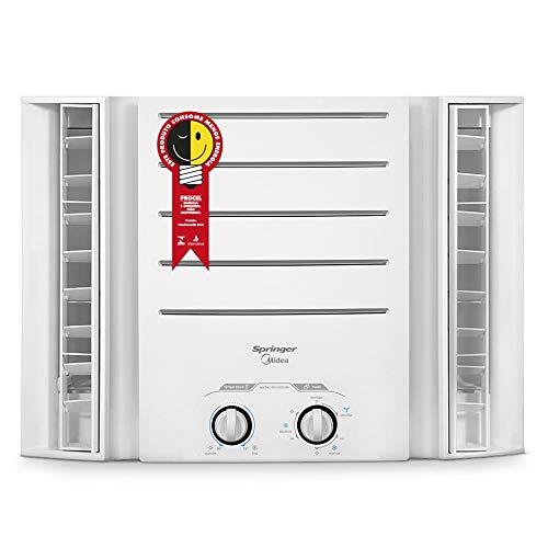 Ar Condicionado de Janela Mecânico, Springer, Branco, 10.000 BTU/h Quente/Frio, 220v, Midea