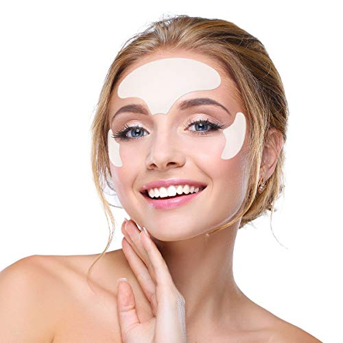 Face Wrinkle Patches,Anti Face Wrinkle Pads,Silicone Care Forehead And Face Wrinkle Pads Wrinkle Patches Reusable Under Eye Pads
