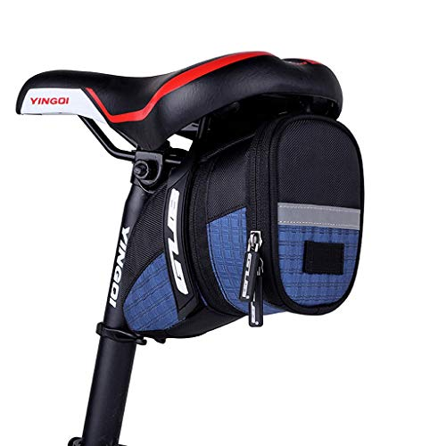 Why Choose HWB Seat Bag Waterproof Bicycle Bag Saddle Bike Bag Tail Bag Cycling Pouch Seat Pack Tail...