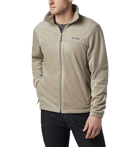 Columbia Steens Mountain Full Zip 2.1 Veste Polaire, Ivoire, S Homme