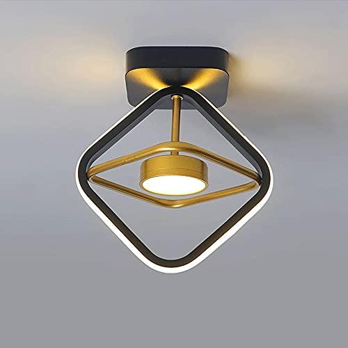 Lámpara colgante de luz de techo moderna, accesorio de iluminación LED de atenuación de tres colores, lámpara de techo de cabecera de dormitorio, comedor, sala de estar, pasillo, iluminación de techo