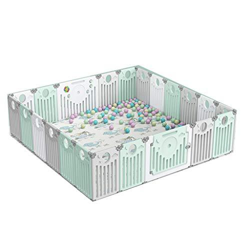 LIUFS-Clôture Centre D'activités De Jeu Pliable avec Jeux De Protection pour Enfants Et Barrière (Taille : 20+2 Pieces)