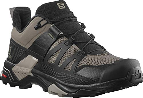 Salomon Men's X Ultra 4 Hiking Shoe, Bungee Cord/Black/Vintage Kaki, 7