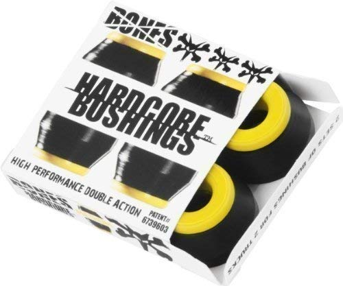 Bones Hardcore Black Skateboard Bushings - Medium