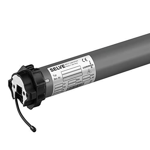 SELVE SE Pro 2/20-RC Ø45 Funk-Rollladenmotor für Welle SW 60, 17 U/min, inkl. SW 60 Wellenadapter, inkl. 2,5 m Kabel