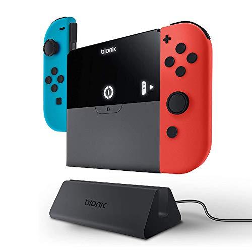 - Base Cargadora Power Plate para Switch y JoyCon (Nintendo Switch) ✅