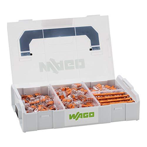 WAGO® Original-Set, L-Boxx Mini, Verbindungsklemmen mit Hebel, Serie 221, 887-952 (229 Teile)