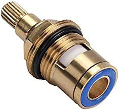 """Vervangend messing keramische kraanventiel insteekschroefverbinding Cartridge Quarter Turn Universal 1/2 """"binnenkraanventi..."""