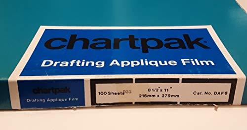 CHADAF8 - Chartpak Applique Drafting Film