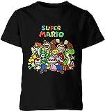WFQTT Super Mario A02,6T - Camiseta unisex de manga corta con cuello redondo