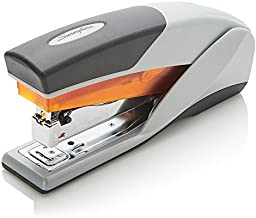 Swingline Stapler, Optima 25, Full Size Desktop Stapler, 25 Sheet Capacity, Reduced Effort, Orange/Gray (66402A)