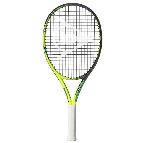 Dunlop Tennisschläger Force 100 25, Schwarz/Gelb, Griffstärke 0, 676836