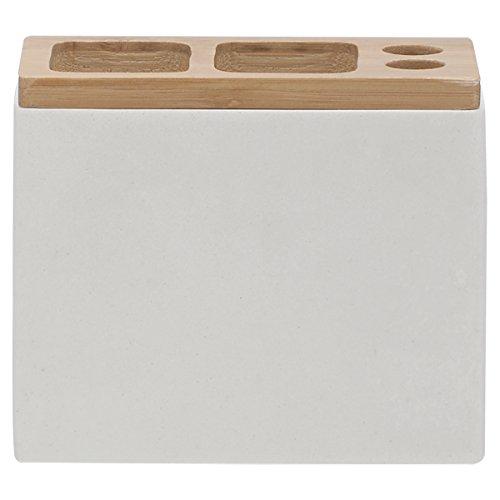 Sealskin Zahnbürstenhalter Grace für elektrische Zahnbürsten, Polyresin, Farbe: Weiß