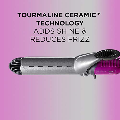 INFINITIPRO BY CONAIR Nano Tourmaline Ceramic Curling Iron, 1 1/4-inch Curling Iron