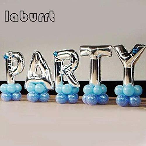 Fancylande ballonnen van folie, goudkleurig, 40,6 cm, met letters en heliumballon, opblaasbaar, party, bruiloft, verjaardag, feest