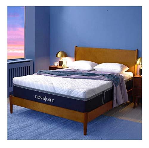 "Novaform 14"" Comfort Grande Plus Memory Foam Mattress (Queen)"