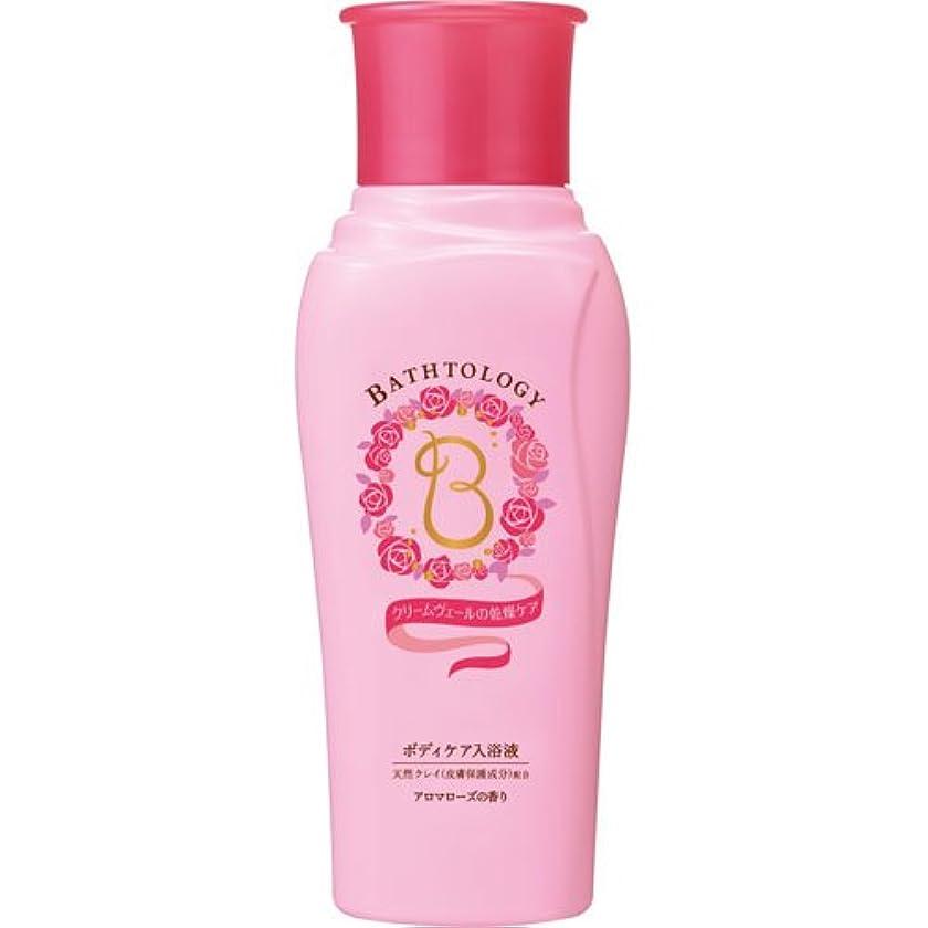 おもちゃ電信モザイクBATHTOLOGY ボディケア入浴液 アロマローズの香り 本体 450mL