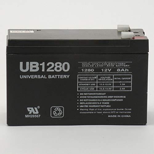 Universal Power Group 12V 8AH SLA Battery Replaces WKA12-8F2 DJW12-8HD TPH12080 F2