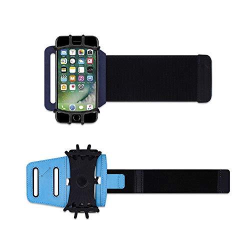 Deportes teléfono pulsera teléfono titular correr muñeca bolsa conducir llevar navegación brazo bolsa para fitness ciclismo viajes