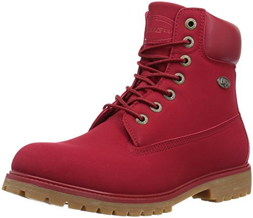 Lugz Men's Convoy Fashion Boot, Mars Red/Gum, 9.5