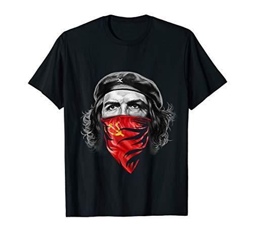 T-Shirt, Che Guevara W sowjetischen Hammer und Sichel rot Bandana