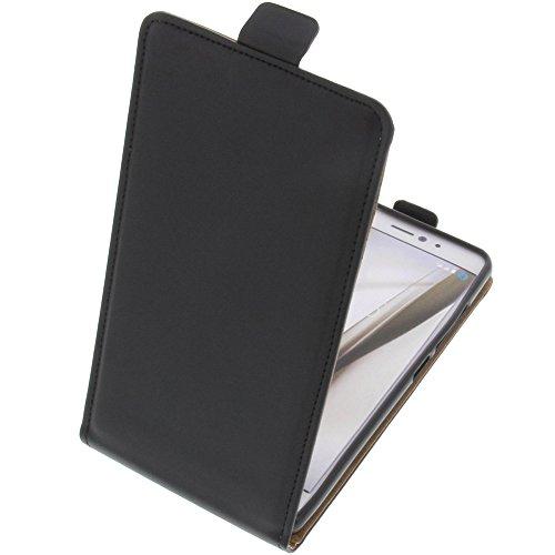 foto-kontor Tasche für Bq Aquaris X Smartphone Flipstyle Schutz Hülle schwarz