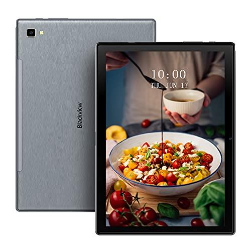 Tablet 10 Pulgadas,Blackview Tab8 Tablet,4GB RAM + 64GB ROM Octa-Core, Android 10 4G LTE 5G WiFi,Batería 6580mAh,1920 * 1200, Face ID/GPS/OTG/Bluetooth