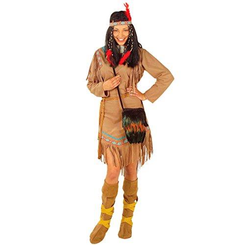 Amakando Jambière Indienne guêtres Squaw Viking Couvre-Chaussures en Velours Moyen-âge Bottes Femme Hippie âge de Pierre Accessoires déguisement